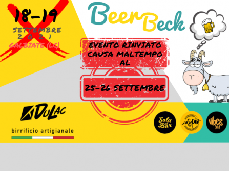 BEER BECK - 25/26 SETTEMBRE