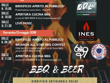 BBQ & BEER 12-13 Maggio